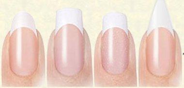 Как подобрать форму ногтей?
