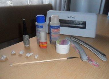 Материалы нужные для наращивания ногтей