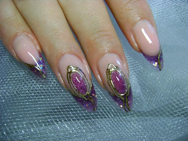 фото камни на ногтях фото пошагово