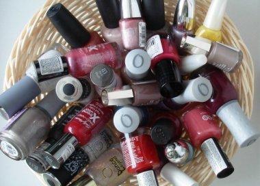 Правила хранения лака для ногтей