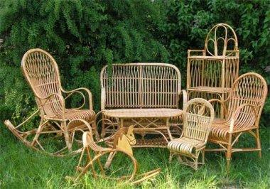 Плетеная мебель для дачи - стиль и качество