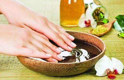 Кедровые ванночки для рук, ног и ногтей