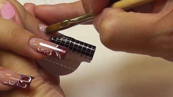 Технология гелевого наращивания на формах