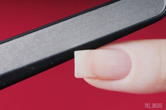 Пилочка с эффектом запаивания ногтей