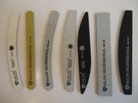 Пилочки для наращивания ногтей